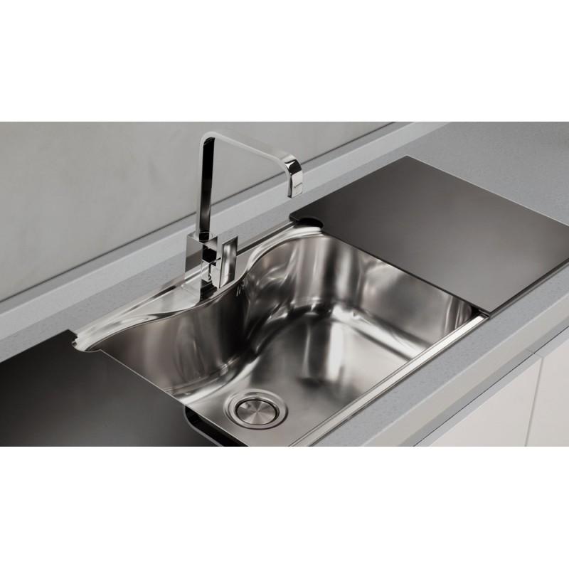 Lavello Cucina Acciaio Monovasca – Idea Immagine Home