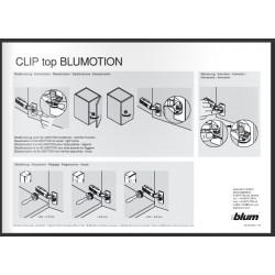 Leaflet illustrativo meccanismo Blumotion Blum