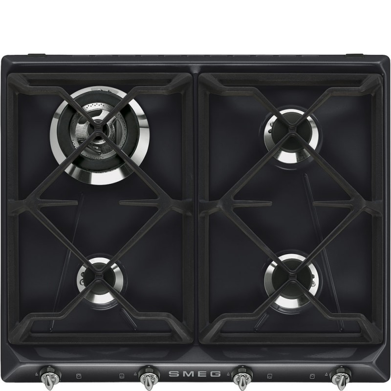 Set cottura Smeg: forno da incasso SF6903N e piano cottura SR964NGH
