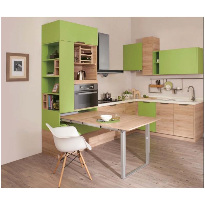 Best tavolo a scomparsa per cucina contemporary home ideas - Cucina tavolo estraibile ...