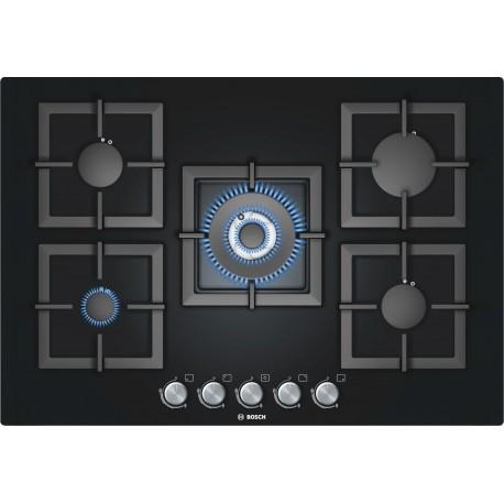 Bosch piano cottura cristallo nero 75 cm PPQ816B21E | Fidea Lecce
