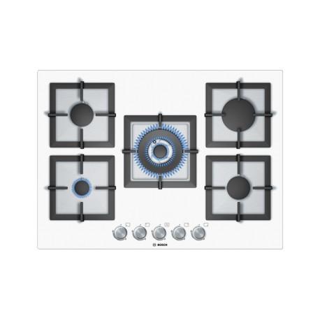 Bosch piano cottura cristallo bianco 70 cm PPQ712B21E| Fidea Lecce