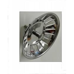 """Foster 8669001 tappo per lavandino in acciaio inox con filtro, piletta 3""""½"""