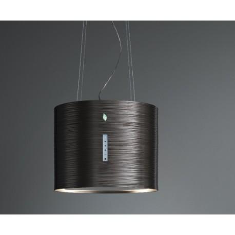 Cappa ad isola 45 cm di design Falmec Twister e.ion | Fidea Lecce