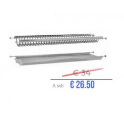 Scolapiatti da incasso I800430CB56 incasso pensile 60 cm | Elletipi