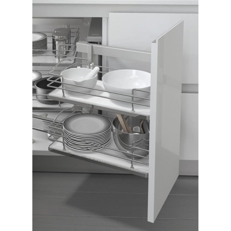 Cestello estraibile per cucina base ad angolo 803bwy fidea - Cestelli estraibili per cucine ...