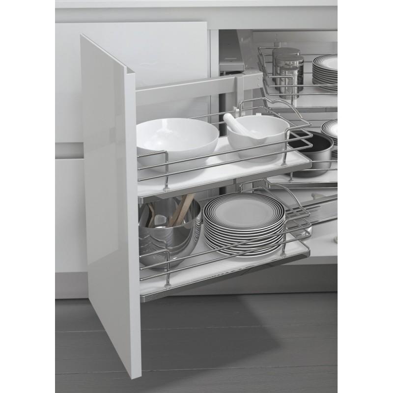 Cestello estraibile per cucina base ad angolo 803bwy fidea - Pianali per cucine ...