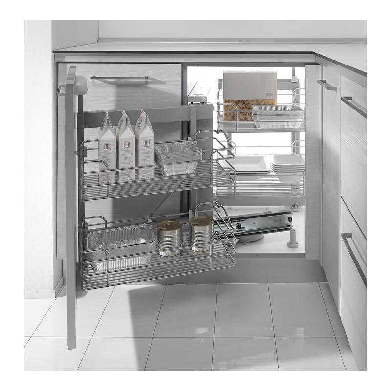 Estraibili cucina cesello per cucina base ad angolo 803by - Pianali per cucine ...