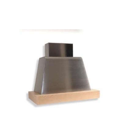 Cappa a parete da cucina brio wood cappe cucina design for Cappe d arredo