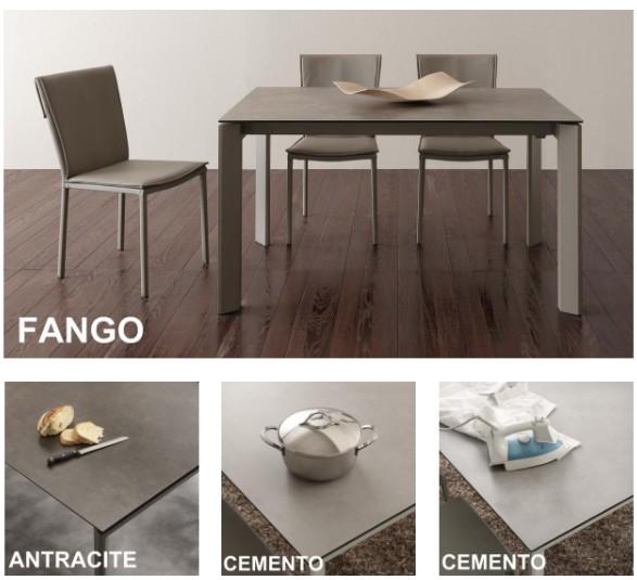 Tavolo Allungabile In Legno Con 4 Sedie.Tavolo Allungabile Da Cucina Con Sedie Tavoli E Sedie Fidea Lecce