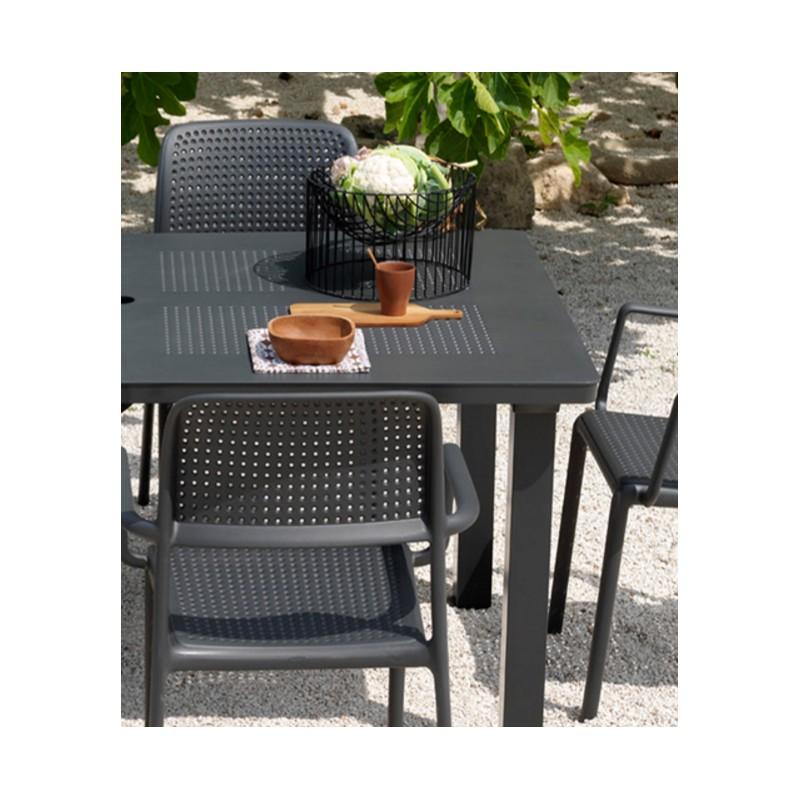 Mobii da esterni tavolo allungabile in plastica st120 for Arredo giardino lecce