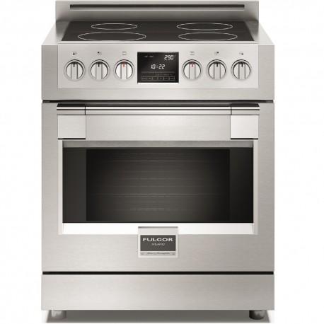 Cucina professionale - piano cottura a induzione alta tecnologia