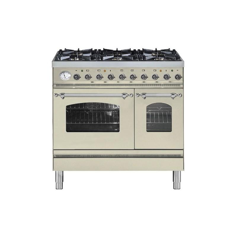 Cucina ilve pd90n doppio forno piano cottura 6 - Cucina piano cottura ...