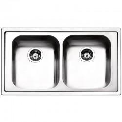 Lavello Apell LN862IBC Linear | 2 vasche 86*50