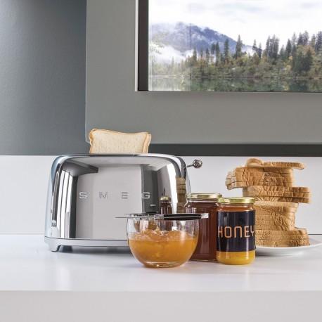 Tostapane Smeg TSF01SSEU| Toaster Anni '50