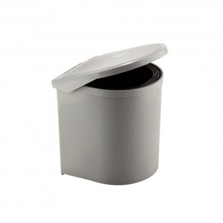 Pattumiera PP6021| Elletipi 1 secchio in alluminio