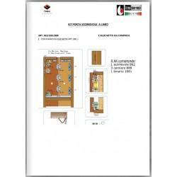 Leaflet Terno kit porta scorrevole a libro